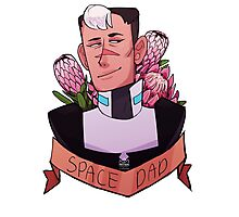 Space Daddy Photographic Print