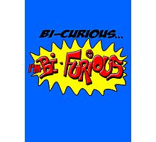Scott Pilgrim VS The World - Bi- Curious...I'm Bi- Furious Photographic Print