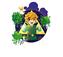Link Wind Waker fanart 2 Photographic Print