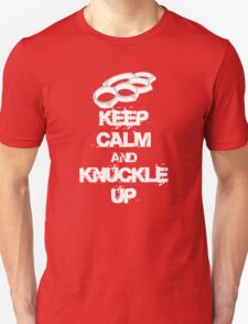 Keep Calm And Knuckle Up Streetfighter Shirt T-Shirt