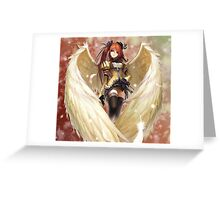 queen like wings Greeting Card