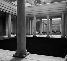 Cemetery Pillars by Dave Hare