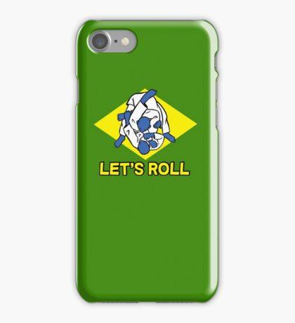 Brazilian jiu-jitsu (BJJ) Let's roll iPhone Case/Skin