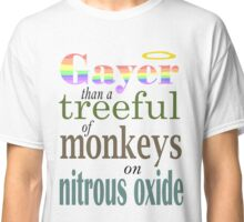 Monkeys on Nitrous Oxide Classic T-Shirt