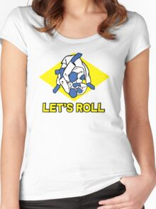 Brazilian jiu-jitsu (BJJ) Let's roll Women's Fitted Scoop T-Shirt