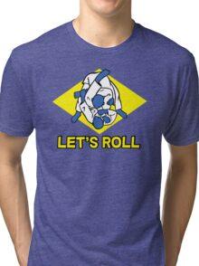 Brazilian jiu-jitsu (BJJ) Let's roll Tri-blend T-Shirt