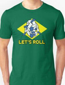 Brazilian jiu-jitsu (BJJ) Let's roll Unisex T-Shirt