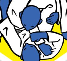 Brazilian jiu-jitsu (BJJ) Let's roll Sticker