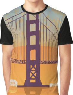 San Francisco vintage poster Graphic T-Shirt