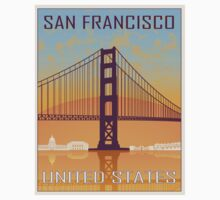 San Francisco vintage poster Baby Tee