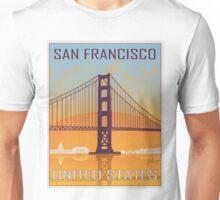 San Francisco vintage poster Unisex T-Shirt