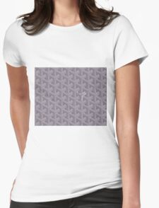 Goyard case grey Womens Fitted T-Shirt