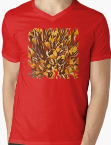 Garden II Mens V-Neck T-Shirt