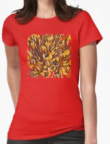 Garden II Womens Fitted T-Shirt