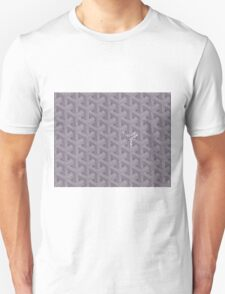Goyard case grey Unisex T-Shirt