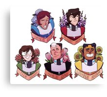 Team Voltron Canvas Print