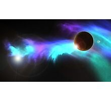 Space colours Photographic Print