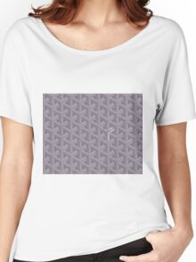 Goyard case grey Women's Relaxed Fit T-Shirt