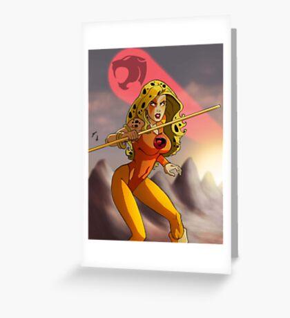 Cheetara Greeting Card