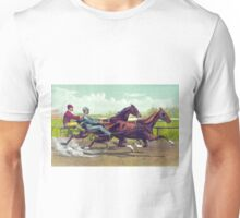 Going for the money - 1891 - Currier & Ives Unisex T-Shirt