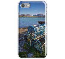 Uig Lobster Pots iPhone Case/Skin