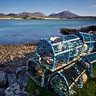 Uig Lobster Pots by Jeanie