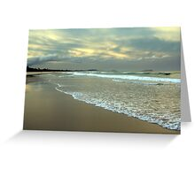 Afternoon on Dreamtime Beach  Greeting Card