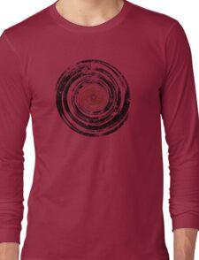 Old Vinyl Records Urban Grunge Long Sleeve T-Shirt