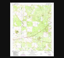 USGS TOPO Map Arizona AZ Ortega Mountain 312719 1971 24000 Unisex T-Shirt