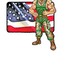 Guile - Street Fighter 2 - USA by JoelCortez