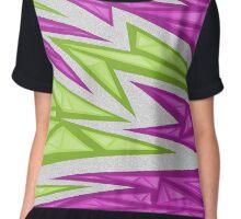 Voxel Triangles - CS:GO Skin (Purple-Green) Chiffon Top