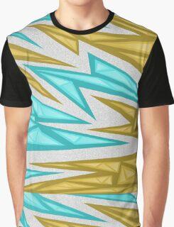 Voxel Triangles - CS:GO Skin (Yellow-Cyan) Graphic T-Shirt