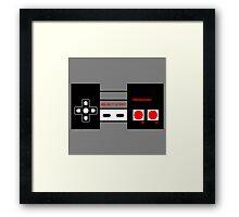 Nintendo Controller Framed Print