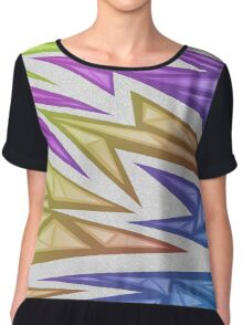 Voxel Triangles - CS:GO Skin (Rainbow Phase) Chiffon Top