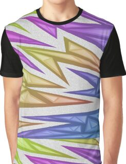 Voxel Triangles - CS:GO Skin (Rainbow Phase) Graphic T-Shirt