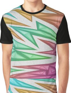 Voxel Triangles - CS:GO Skin (Rainbow Fade) Graphic T-Shirt