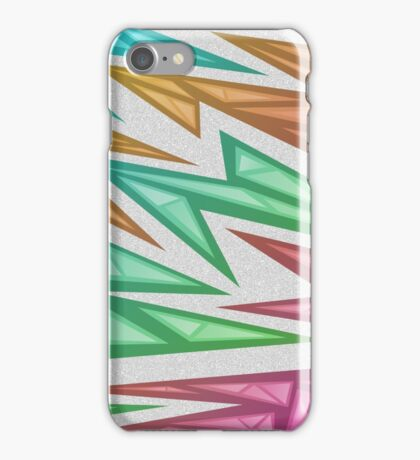 Voxel Triangles - CS:GO Skin (Rainbow Fade) iPhone Case/Skin