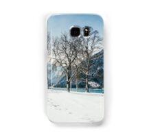 Trees By The Winter Lake Samsung Galaxy Case/Skin