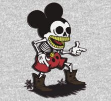 Skeleton mickey zombie mouse by datthomas