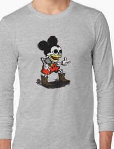 Skeleton mickey zombie mouse Long Sleeve T-Shirt