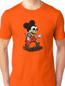 Skeleton mickey zombie mouse Unisex T-Shirt
