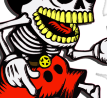 Skeleton mickey zombie mouse Sticker