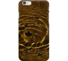 Waterboatman patterns iPhone Case/Skin