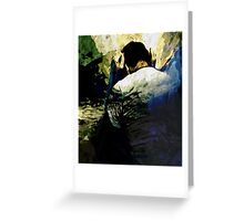 In your Shadow Greeting Card