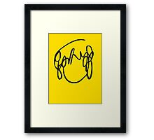 Scott Pilgrim VS the World - Have you seen a girl with hair like this...Ramona Flowers Framed Print