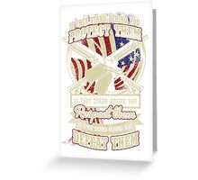 SOLIDER PROTECT  Greeting Card