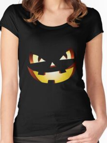 Halloween Laugh Women's Fitted Scoop T-Shirt