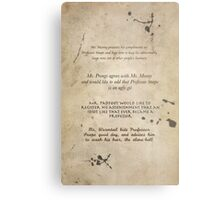 Moony Wormtail Padfoot and Prongs Metal Print