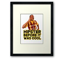 Steve Urkel - Hipster before it was cool Framed Print