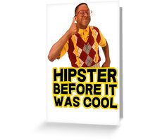 Steve Urkel - Hipster before it was cool Greeting Card
